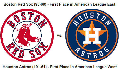 MLB Playoffs – Red Sox Versus Astros